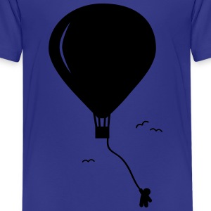 hot-air balloon guy  Kids' Shirts - Kids' Premium T-Shirt