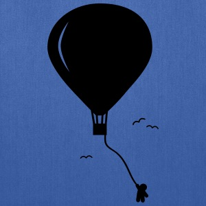 hot-air balloon guy  Bags & backpacks - Tote Bag