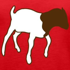 boer goat Tanks - Women's Premium Tank Top