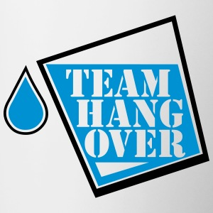 team hangover Bottles & Mugs - Contrast Coffee Mug