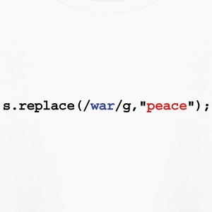 replace war with peace Kids' Shirts - Kids' Long Sleeve T-Shirt