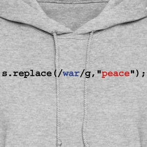 replace war with peace Hoodies - Women's Hoodie