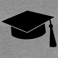 graduation hat Women's T-Shirts