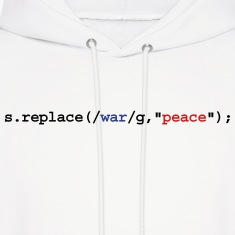 replace war with peace Hoodies