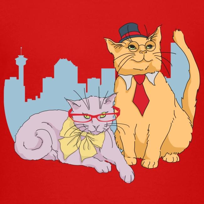 Calgary Cats Kids Tee