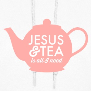 Jesus & Tea is All I Need Hoodies - Women's Hoodie