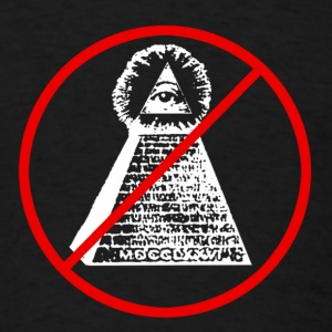 Anti Illuminati - Men's T-Shirt