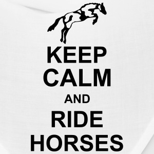 keep_calm_and_rider_horses_g1 Caps - Bandana