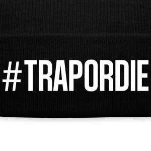 trap or die Caps - Knit Cap with Cuff Print
