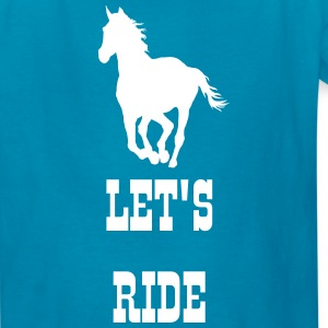 Let's ride - Kids' T-Shirt