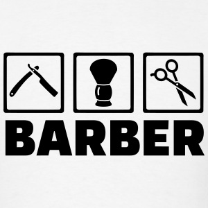 Barber T-Shirts - Men's T-Shirt