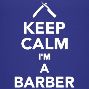 Keep calm I'm a Barber Kids' Shirts - Kids' Premium T-Shirt