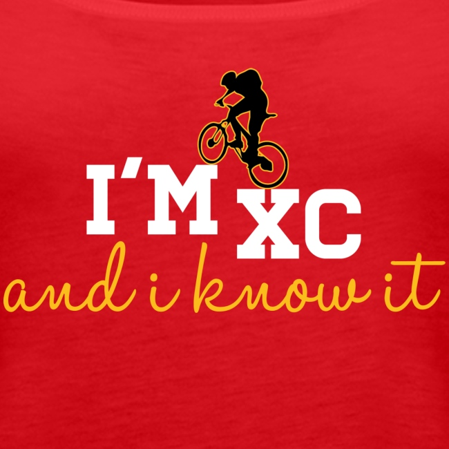 I'm XC and I Know It - Tank (Womens)