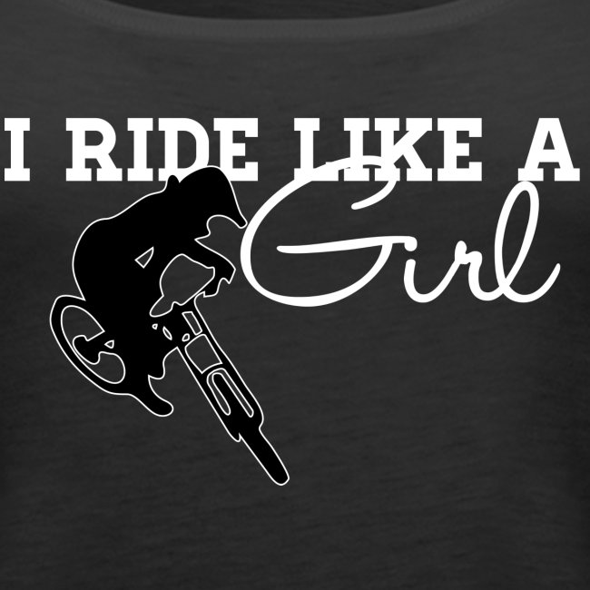 I Ride Like A Girl - Tank (Womens)