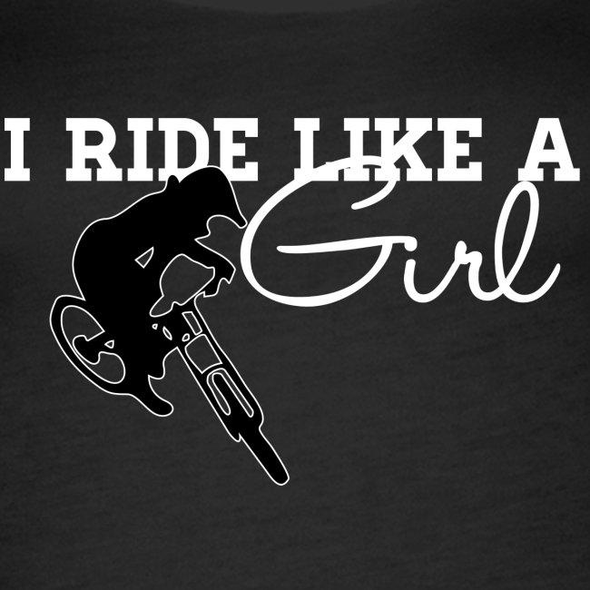 I Ride Like A Girl - Tank (Womens)