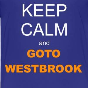 Kid's T-shirt - Keep Calm and Westbrook - Kids' Premium T-Shirt