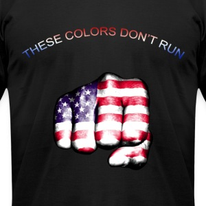 These Colors Don't Run - Men's T-Shirt by American Apparel