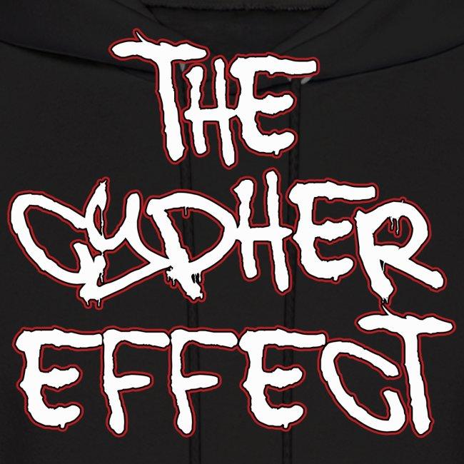 Black TCE Logo Hoodie (RED)