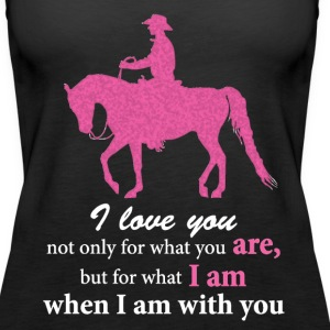 Arabian Horse - Western Pleasure - Love You Tanks - Women's Premium Tank Top