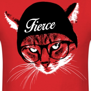 Fierce Cat T-Shirts - Men's T-Shirt