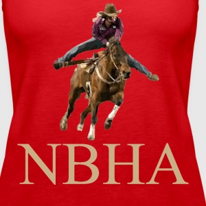 Barrel Racer: NBHA Tanks - Women's Premium Tank Top