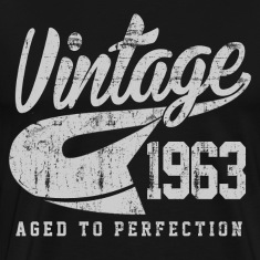 Vintage 1963 Aged To Perfection