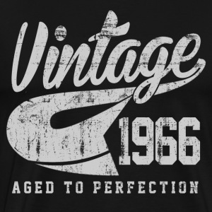 Vintage 1966 Aged To Perfection - Men's Premium T-Shirt