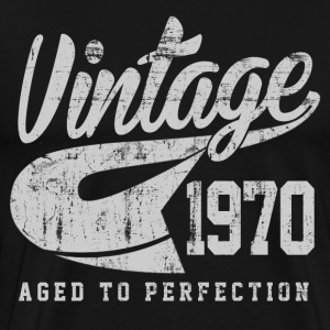 Vintage 1970 Aged To Perfection - Men's Premium T-Shirt