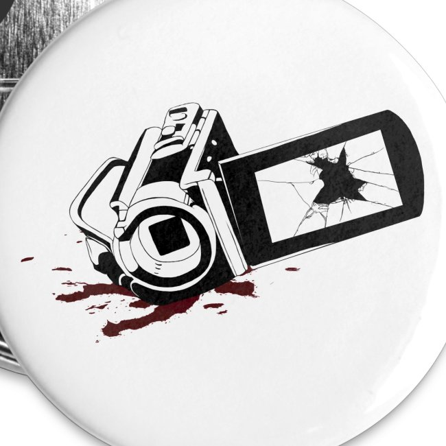Haunted Camera Buttons - Small