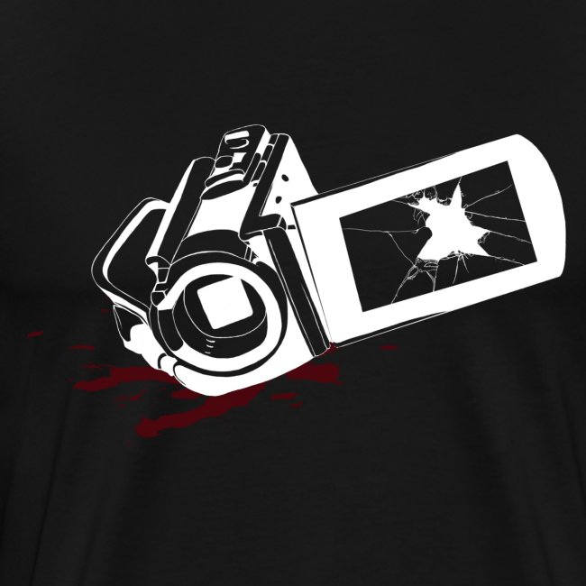 Men's Haunted Camera Shirt - Black