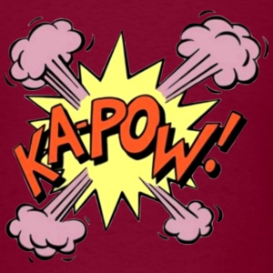 Comic KAPOW! T-Shirts - Men's T-Shirt