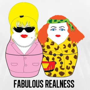 Fabulous Realness - Men's T-Shirt by American Apparel