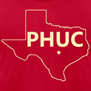 Men's Jersey Style Tee - PHUC Texas - Men's T-Shirt by American Apparel