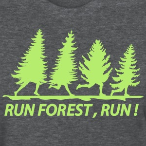Run forest - Women's T-Shirt