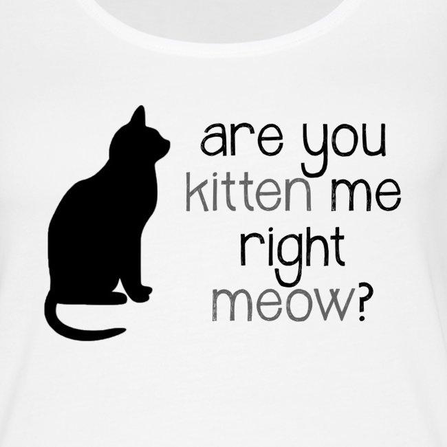 Right Meow Tank