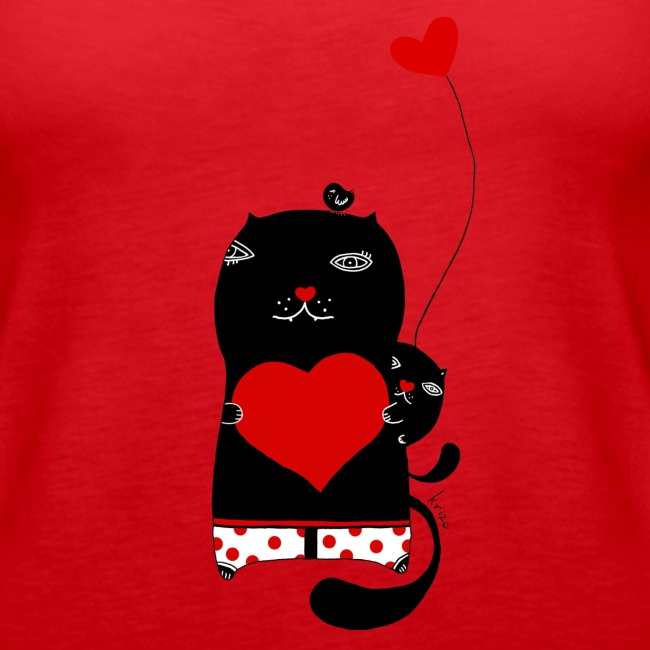 Cats with Hearts Tank