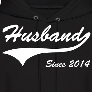 Husband Since 2014 Hoodies - Men's Hoodie