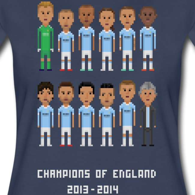 Women T-Shirt - Champions of England 2013-2014