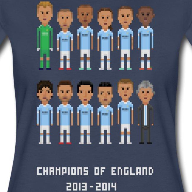 Women T-Shirt - Champions of England 2013-2014