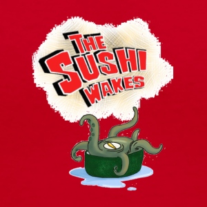 The Sushi Wakes - Women's V-Neck T-Shirt