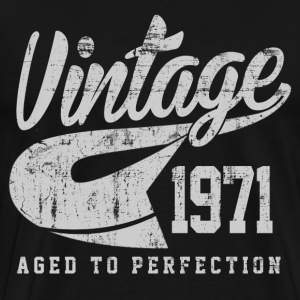 Vintage 1971 Aged To Perfection - Men's Premium T-Shirt