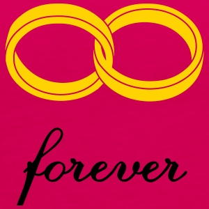 wedding rings forever Tanks - Women's Premium Tank Top