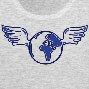 earth with wings Men - Men's Premium Tank