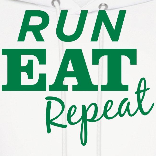 Run Eat Repeat sweatshirt male