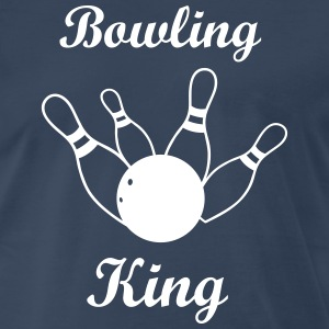 Bowling King - Men's Premium T-Shirt