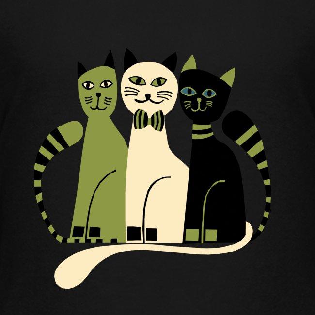Cozy Cats Kids Tee
