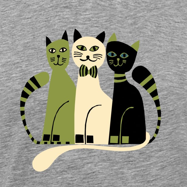 Cozy Cats Fitted Tee