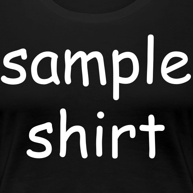 Women's Sample Shirt