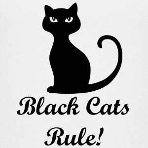 Black cats rule! - Kids' Premium T-Shirt