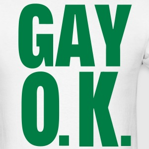 GAY O.K. - Men's T-Shirt